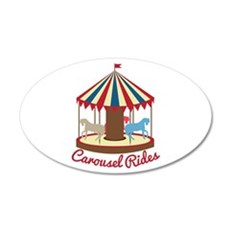 Carousel Rides Wall Decal