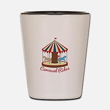 Carousel Rides Shot Glass