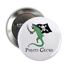 "Pirate Gecko 2.25"" Button"