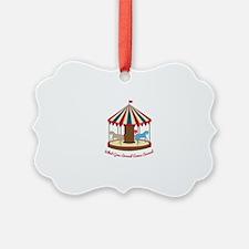 Round & Round Ornament