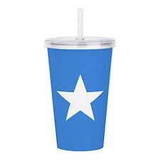 Somalia Flag Acrylic Double-Wall Tumbler