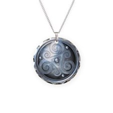 Celtic Double Triskelion - S Necklace