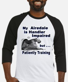 Airedale Terrier Agility Baseball Jersey