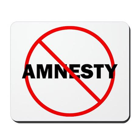 No Amnesty Mousepad