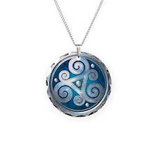 Celtic Double Triskelion - B Necklace