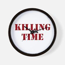Killing Time Wall Clock