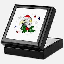 Christmas American Eagle Keepsake Box