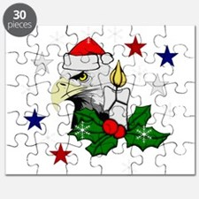 Christmas American Eagle Puzzle