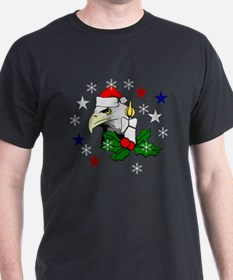 Christmas American Eagle T-Shirt