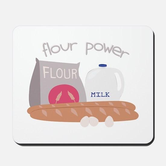 Flour Power Mousepad