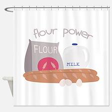 Flour Power Shower Curtain