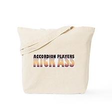 Accordion Players Kick Ass Tote Bag