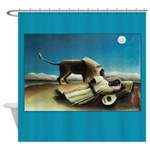 Henri Rousseau Sleeping Gypsy Shower Curtain