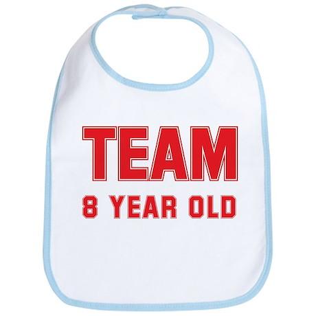 Team 8 YEAR OLD Bib