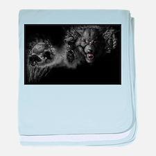 werewolf baby blanket