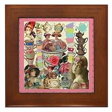 Ladies' Tea Framed Tile