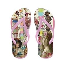 Ladies' Tea Flip Flops