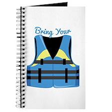 Bring Your Vest Journal