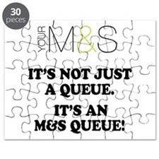MARKS SPENCER PARODY - QUEUES Puzzle