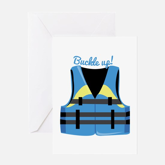 Buckle Up Greeting Cards