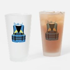 Buckle Up Drinking Glass