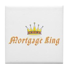 Mortgage King Tile Coaster