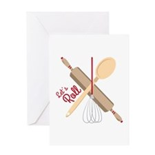 Lets Roll Greeting Cards
