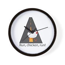 Run, Chicken, Run! Wall Clock