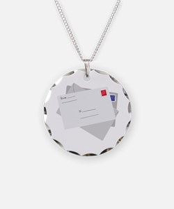 Postal Letter Necklace