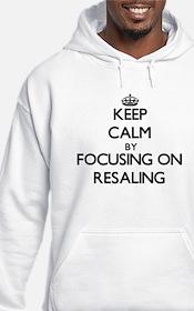 Keep Calm by focusing on Resalin Hoodie