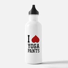 I Love Yoga Pants Water Bottle