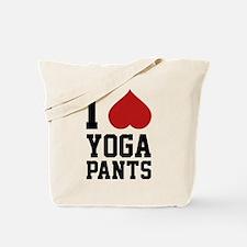 I Love Yoga Pants Tote Bag