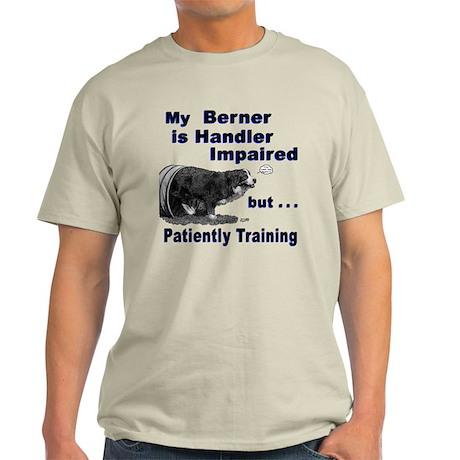 Bernese Mtn Dog Agility Light T-Shirt