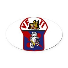 vf11_12.png Oval Car Magnet