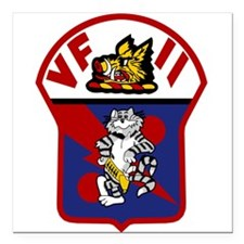 """vf11_12.png Square Car Magnet 3"""" x 3"""""""