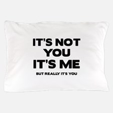 It's Not You. It's Me. But Really It's You. Pillow