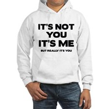 It's Not You. It's Me. But Really It's You. Hoodie