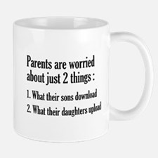 Parents Are Worried About Just 2 Things Mug