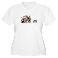 Hedgehogs Plus Size T-Shirt