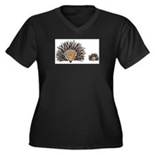 Hedgehogs Plus Size T-Shirt