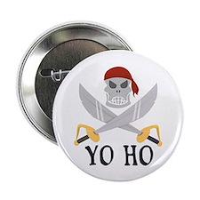 """Yo Ho 2.25"""" Button (10 pack)"""