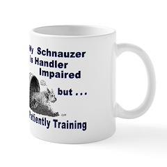 Schnauzer Agility Mug