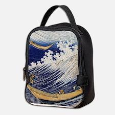 Hokusai Ocean Waves Neoprene Lunch Bag