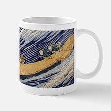Hokusai Ocean Waves Mugs