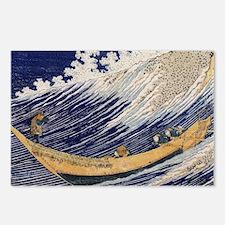 Hokusai Ocean Waves Postcards (Package of 8)