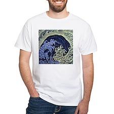The Feminine Wave by Hokusai T-Shirt
