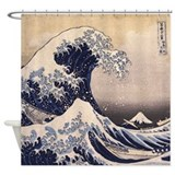 Hokusai Shower Curtains