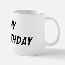 Its my 5th Birthday Mug