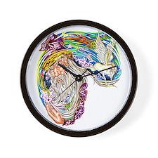 Cute Majik Wall Clock