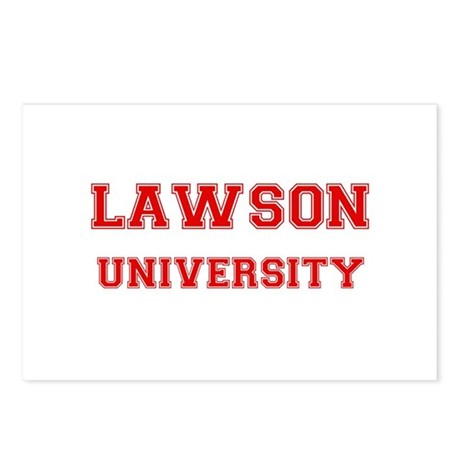 LAWSON UNIVERSITY Postcards (Package of 8)